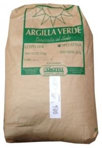 Argila verde fina, pentru uz extern, 25 kg