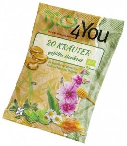 Dropsuri BIO cu plante medicinale, 75 g