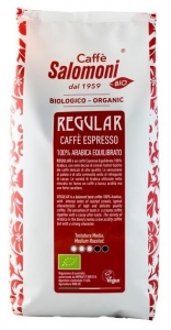 Cafea boabe Bio Espresso 100% Arabica Gourmet - REGULAR - 1 kg