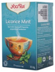 Ceai Bio  LEMN DULCE  MENTA  Yogi Tea, 30.6 g