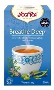 Ceai Bio RESPIRATIE PROFUNDA Yogi Tea, 30.6g