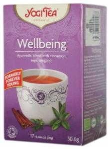 Ceai Bio WELLBEING - Mereu Tanar- Yogi Tea, 30.6gr