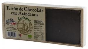 Chocolates Sole–Ciocolata BIO Turron cu afine negre, (minim 30% continut de cacao) 200 g