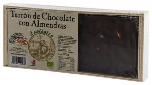 Chocolates Sole–Ciocolata BIO Turron cu migdale, (minim 30% continut de cacao) 200 g