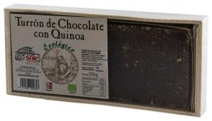 Chocolates Sole–Ciocolata BIO Turron cu quinoa, (minim 30% continut de cacao) 200 g