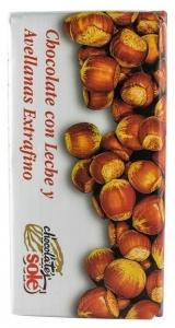Chocolates Sole - ciocolata cu lapteși alune de padure 30% cacao, 150g