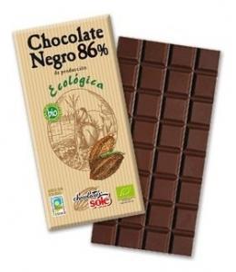 Ciocolata neagra BIO 86% cacao Chocolates Sole, 100gr