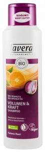 Sampon pentru volum si rezistenta cu portocale bio si ceai verde bio, 250 ml