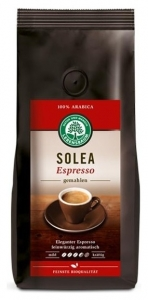 Cafea bio macinata Solea Expresso - 100% Arabica, 250 g