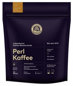 "Cafea boabe BIO""Perl Kaffee"", 125g"