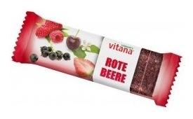Baton Bio cu fructe rosii, 60 g