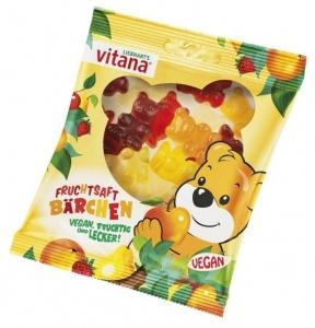 Ursuleti din fructe, fara gelatina, 100 g