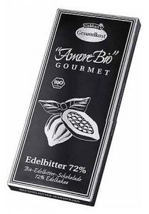 Ciocolata neagra, 72% cacao, 100 g