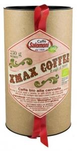 .Cafea bio de Craciun cu scortisoara 250gr Xmax Box
