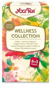 Yogi Tea - Ceai BIO Colectie Wellness, 33.0 g