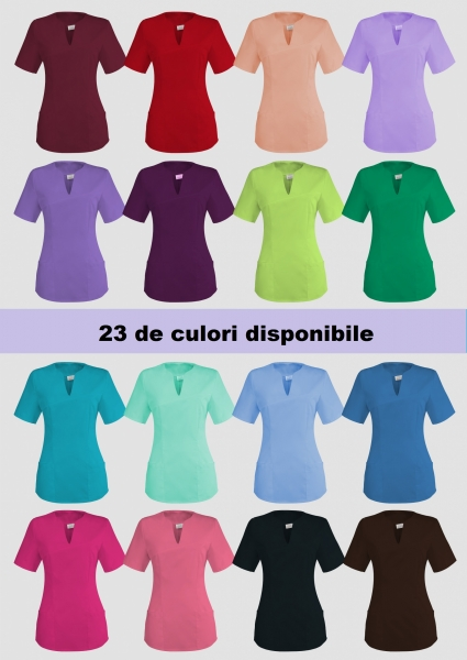 Bluza medicala 23 culori