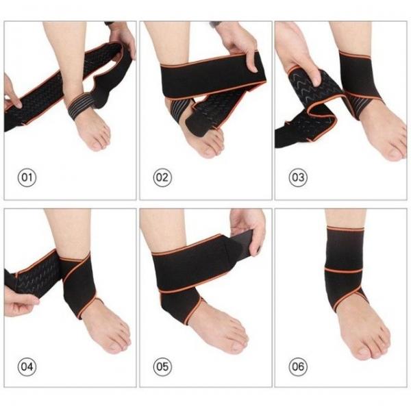 Fasa elastica pentru glezna - ORTO13 4