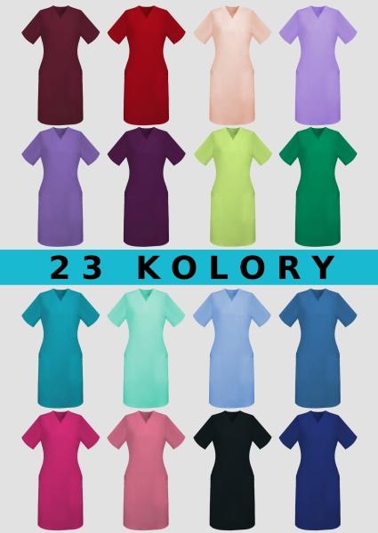 Halat  dama lung 23 culori