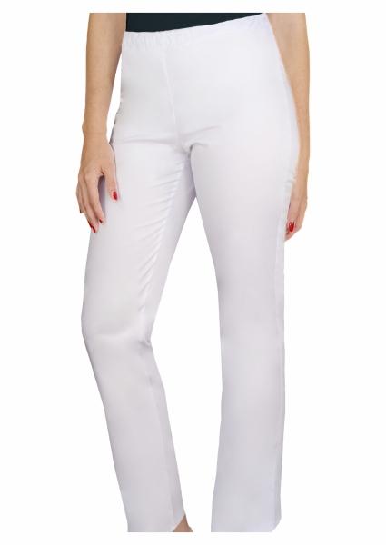 Pantaloni medicali alb