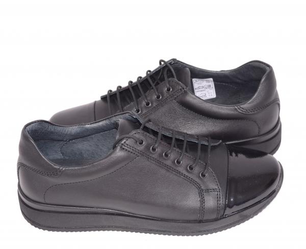 Pantofi casual confortabili dama 79 Negru 3