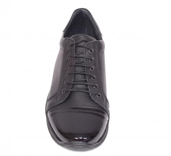 Pantofi casual confortabili dama 79 Negru 1