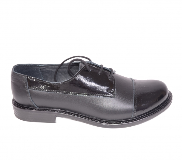 Pantofi casual dama 345 Negru 0