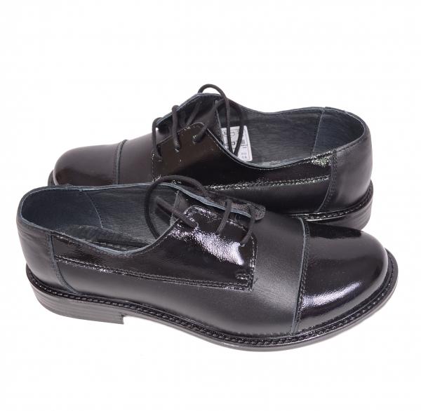 Pantofi casual dama 345 Negru 3