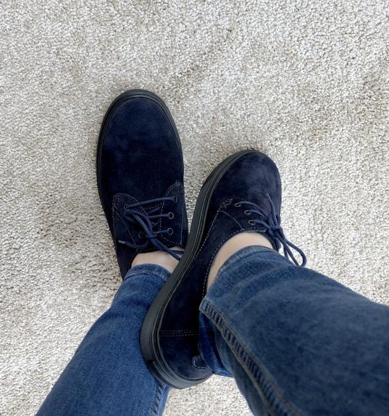 Pantofi casual dama 434XB Albastru 2