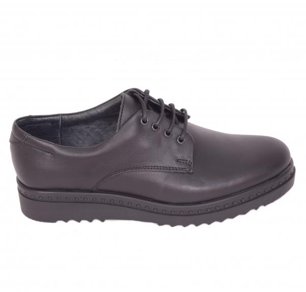 Pantofi casual dama 486 Negru 0