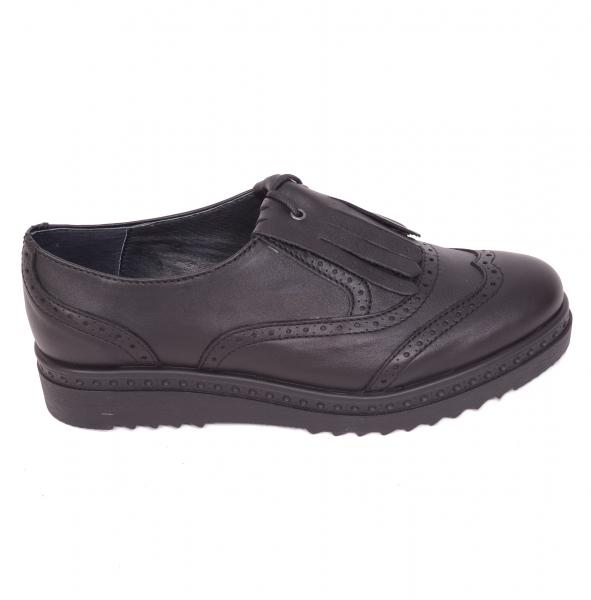 Pantofi casual dama 487 Negru 0