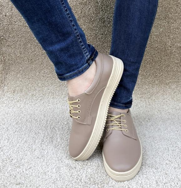 Pantofi casual dama 521 Nude 2