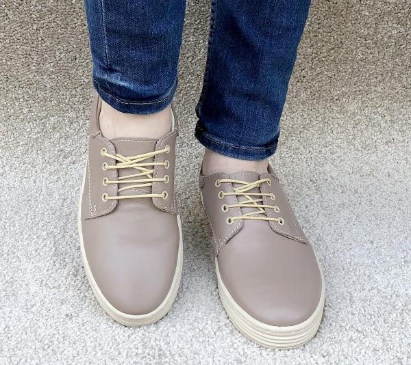 Pantofi casual dama 521 Nude 1