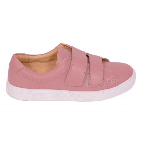 Pantofi piele naturala, CONFORT+ 550 Roz 0