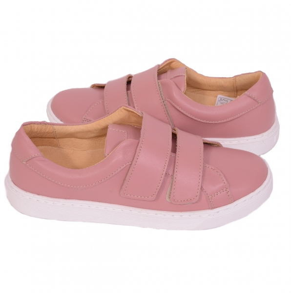 Pantofi piele naturala, CONFORT+ 550 Roz 2