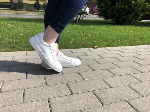 Pantofi casual dama 564 Alb 1