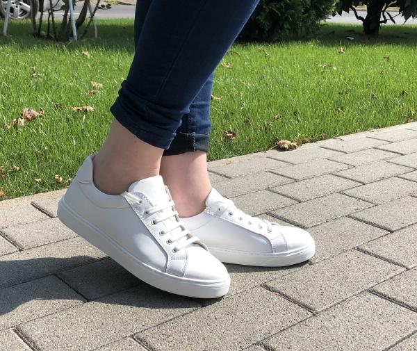 Pantofi casual dama 564 Alb 0