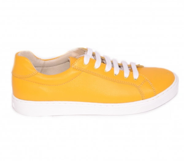 Pantofi casual dama 564 Galben 2