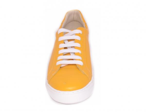 Pantofi casual dama 564 Galben 3