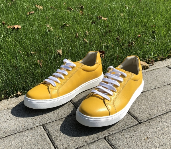 Pantofi casual dama 564 Galben 1