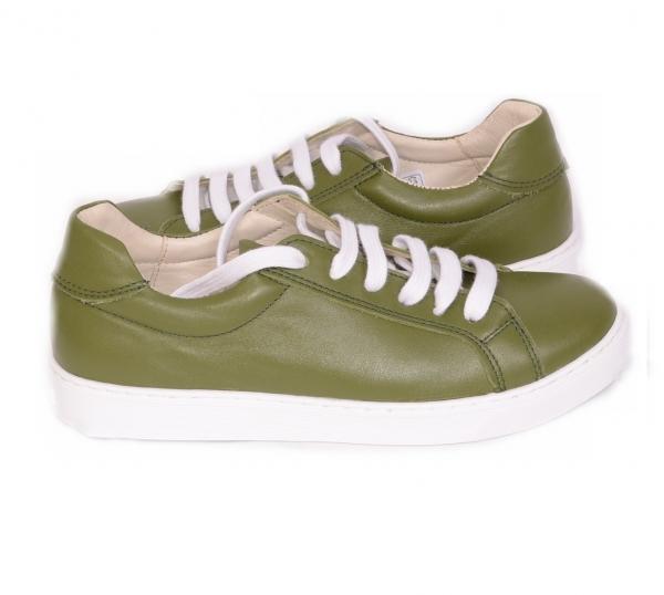 Pantofi casual dama 564 Verde 3
