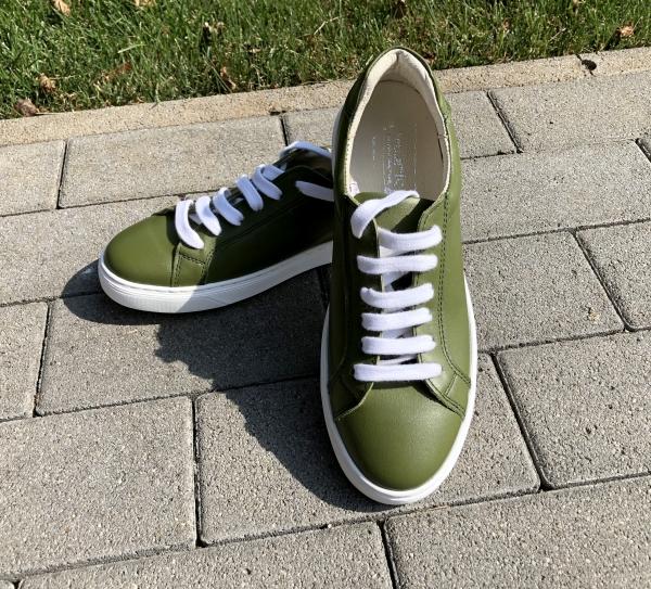 Pantofi casual dama 564 Verde 1