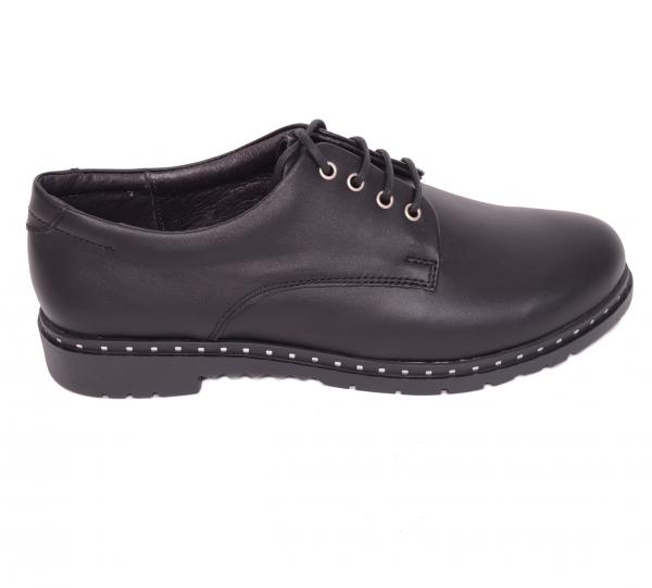 Pantofi casual dama 592 Negru 0