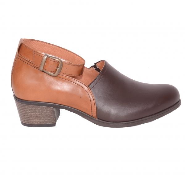 Pantofi confortabili dama 557 Maro 0