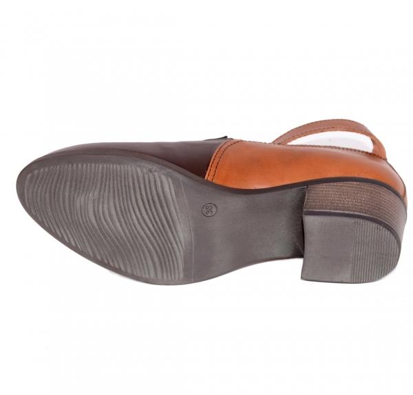 Pantofi confortabili dama 557 Maro 2