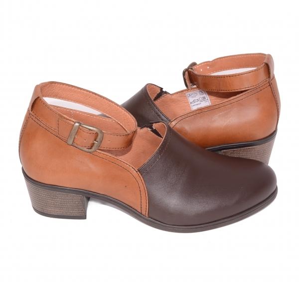 Pantofi confortabili dama 557 Maro 3