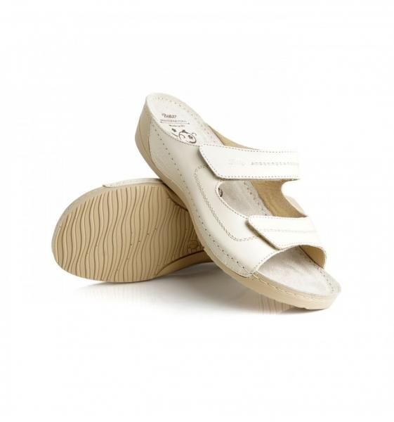 Papuci confortabili Batz Olivia EX1K5 Bej 2