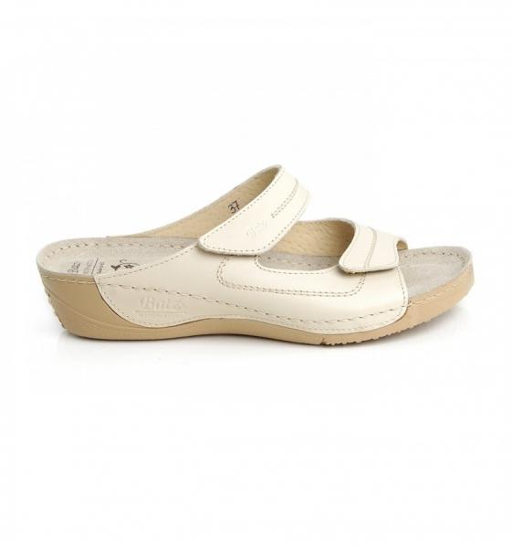 Papuci confortabili Batz Olivia EX1K5 Bej 1