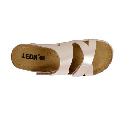 Papuci confortabili dama Leon 906 Perla 3
