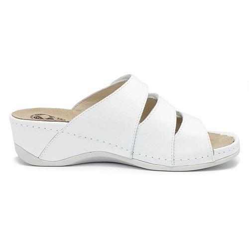 Papuci cu talpa ortopedica 701-18 Alb 3