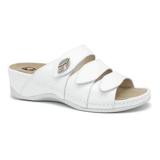 Papuci cu talpa ortopedica 701-18 Alb 0